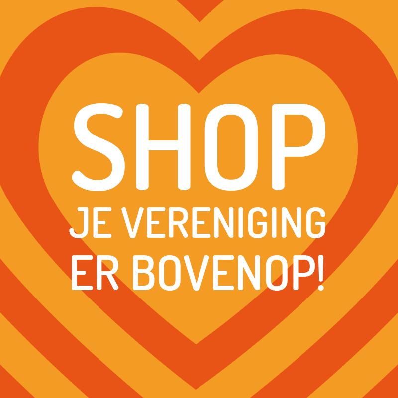 Shop je vereniging er bovenop!